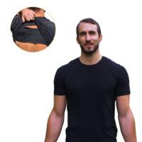 Swedish Posture Reminder T-Shirt man